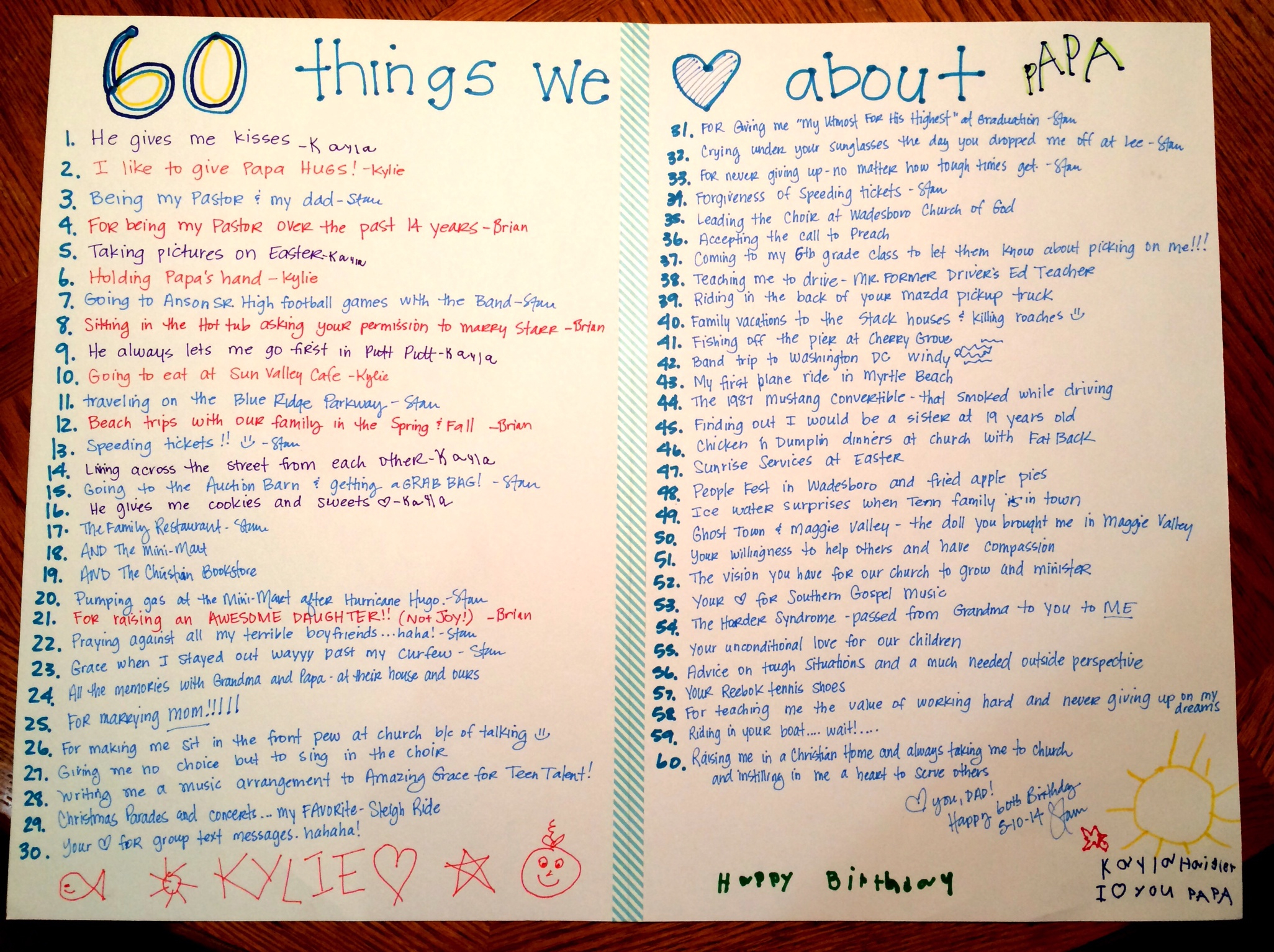 pics 10 Things My Dad Did for Me When I Was a Kid That I Took for Granted