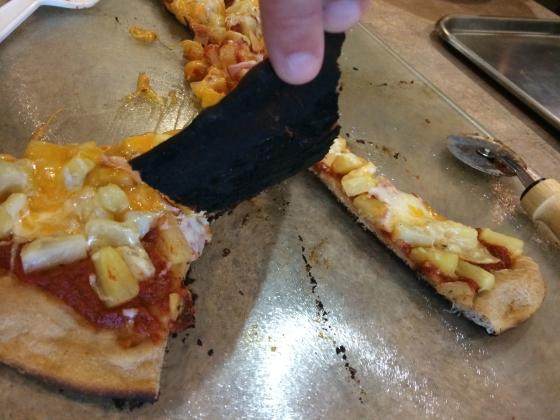 Starr haigler burnt pizza