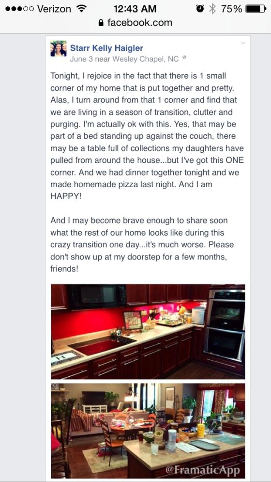 Starr haigler facebook house