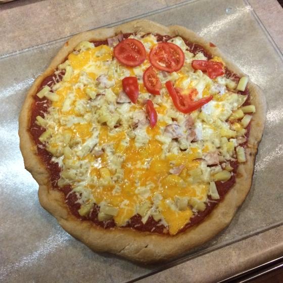 Starr haigler pizza