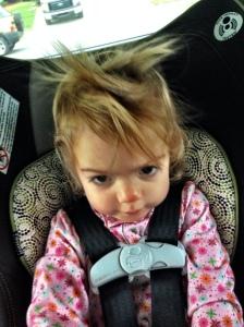 messy hair Starr haigler